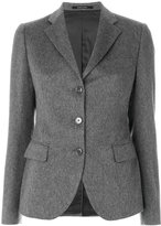 Tagliatore knitted button blazer
