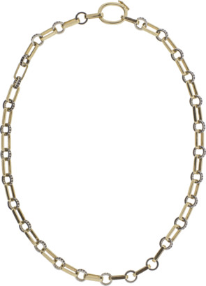 Black Diamond Nancy Newberg Oval Link Necklace