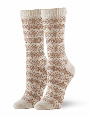 Hue Women's Casual Crew Boot Sock