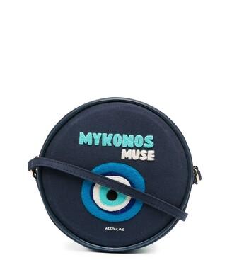 Olympia Le-Tan Mykonos round shoulder bag