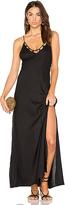 Tori Praver Swimwear Kora Maxi Dress in Black. - size 1/S (also in 2/M,3/L)