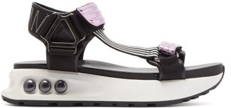 Nicholas Kirkwood Nkp3 Faux Pearl-inlay Leather Flatform Sandals - Womens - Pink