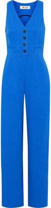 Diane von Furstenberg Linen-blend Twill Jumpsuit