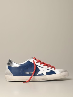 Golden Goose Sneakers Superstar Sneakers In Leather And Suede