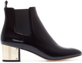 Zara Ankle Boot With Metal Heel