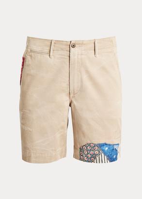 Ralph Lauren Straight Fit Distressed Short