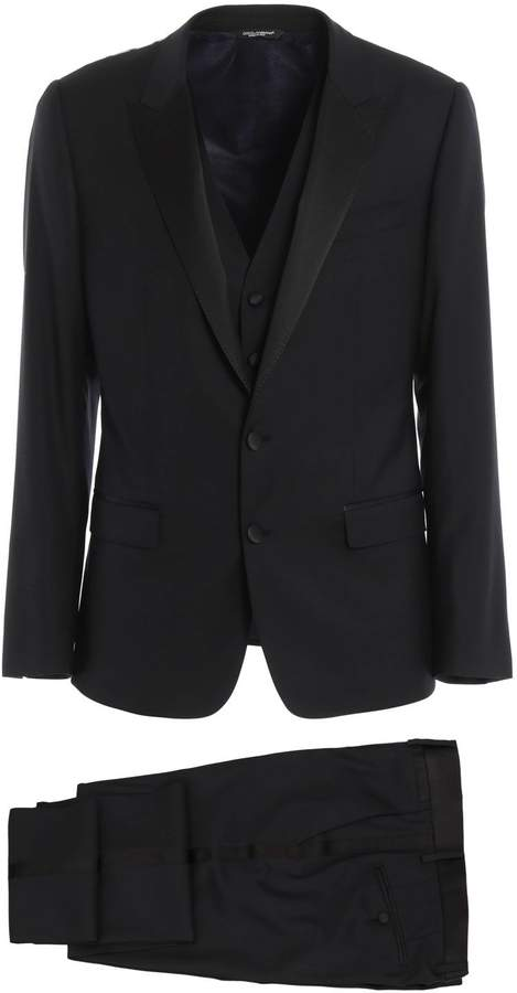 Dolce & Gabbana Suit 3 Pcs Drop 7