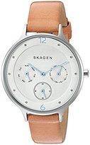 Skagen Women's SKW2449 Anita Light Brown Leather Watch