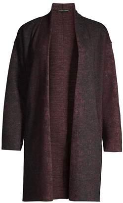Eileen Fisher Wool & Nylon Kimono Cardigan