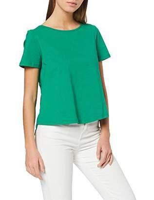 Vila Women's Vimixi S/S T-Shirt Snow White, S
