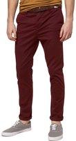 Italy Morn Men Chino Pants Khaki Slim Fit Stretch Cotton Twill Fabric Trousers (L, )