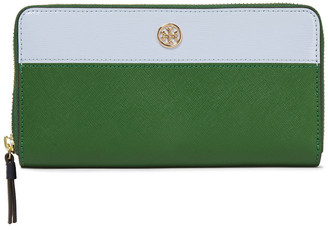 Tory Burch Two-tone Leather Continental Wallet