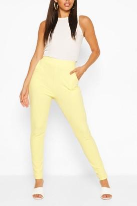 boohoo Pastel Pocket Detail Casual Skinny Trousers