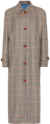 Giuliva Heritage Collection The Maria checked wool coat