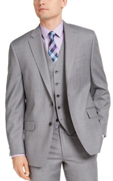 Michael Kors Men's Classic-Fit Airsoft Stretch Suit Jackets