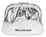 Balenciaga Women's Cloud Leather Coin Purse