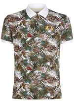 La Martina Slim Fit Print Polo Shirt