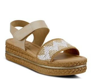 Spring Step Grendya Espadrille Wedge Sandal
