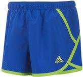 adidas Medium Blue Finish Line Shorts - Girls