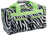 Rockland 19 Freestyle Carry-On Animal Print Duffle Bag