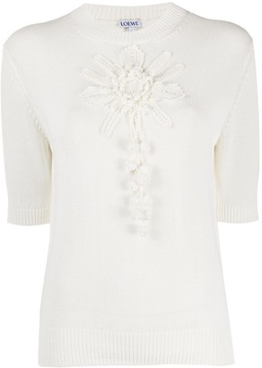 Loewe embroidered T-shirt