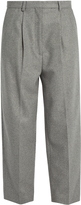 Acne Studios Milli high-rise wool-blend trousers