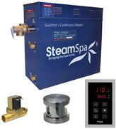 Steam Spa Oasis 9 kW QuickStart Steam Bath Generator Package with Built-in Auto Drain