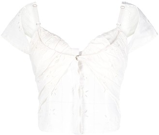 Jacquemus Broderie-Anglaise Blouse