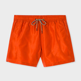 Paul Smith Men's Burnt Orange Swim Shorts