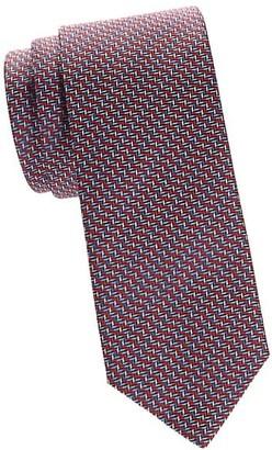 Brioni Arrows Silk Tie