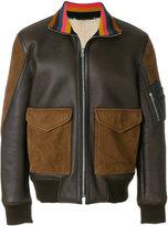 Paul Smith contrast pockets bomber jacket