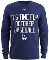 Nike Men's Los Angeles Dodgers Local Hunt Long-Sleeve Tee