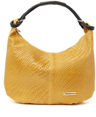 Persaman New York Alessandra Woven Leather Hobo