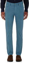 Ermenegildo Zegna Men's Five-Pocket Jeans-BLUE