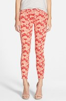 Hudson Women's 'Nico' Print Ankle Skinny Jeans
