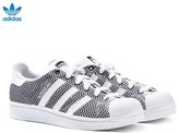 adidas Black Superstar Colour Trainers