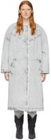 Isabel Marant Grey Kaleia Coat