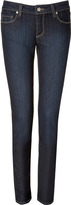 Paige Skyline Skinny Jeans in Fountain Blue