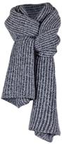 Long & Chunky Rib Knit Cashmere Scarf