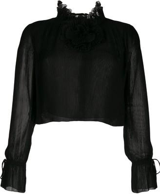 Marco De Vincenzo Georgette blouse