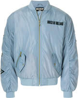House of Holland logo bomber jacket