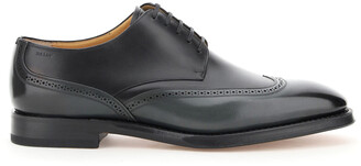Bally TIGHTEN SCONNY 5 Grey, Black Leather