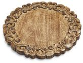 Sur La Table Wooden Scroll Cheese Board