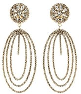 "Amrita Singh beatrice"""" Crystal Drop Earrings."