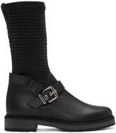 Fendi Black Waves Boots