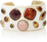 Ashley Pittman Tumikia Horn and Multi-Stone Cuff