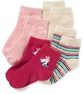 Old Navy Ankle Socks 4-Pack for Toddler & Baby
