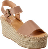 Soludos Minorca Leather Wedge Sandal