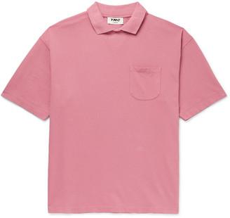 YMC Frat Organic Cotton-Pique Polo Shirt