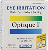 Boiron Optique 1 Minor Eye Irritation Drops -- 10 Doses